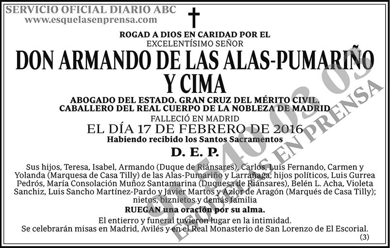 Armando de las Alas-Pumariño y Cima